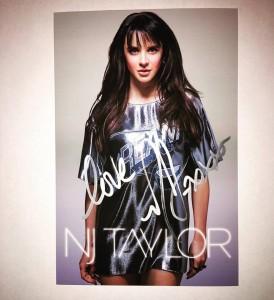 NJ Taylor Poster